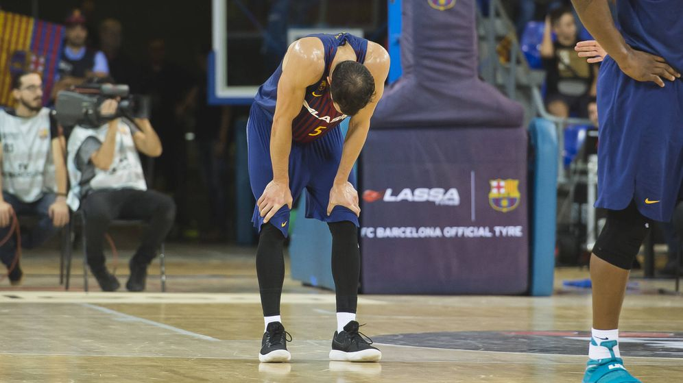 Foto: El Barcelona comenzó la temporada con cinco victorias. Luego ha perdido los cinco encuentros siguientes. (ACB Photo/V. Salgado)
