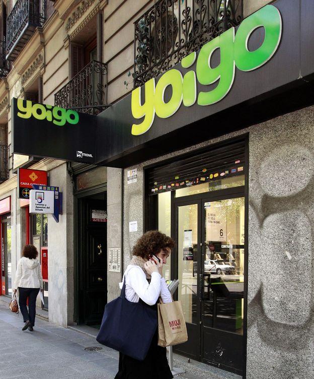 Foto: Una tienda de Yoigo en Madrid. (Reuters)