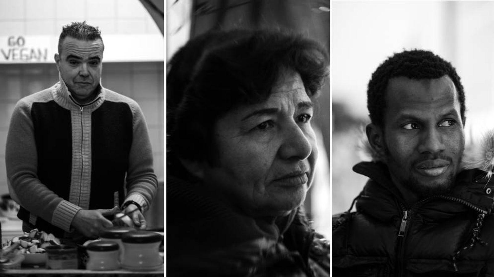 Foto: Josep, Juana y Alseny. (Zoe Sala Coixet)