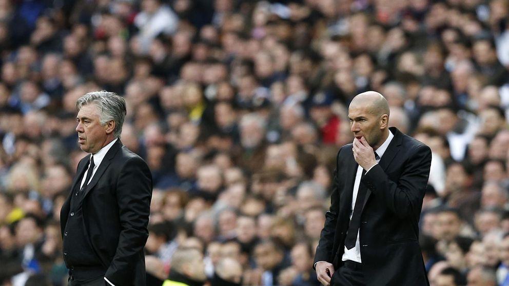 Zidane se enfrenta por primera vez a Ancelotti con la misma idea que le dejó