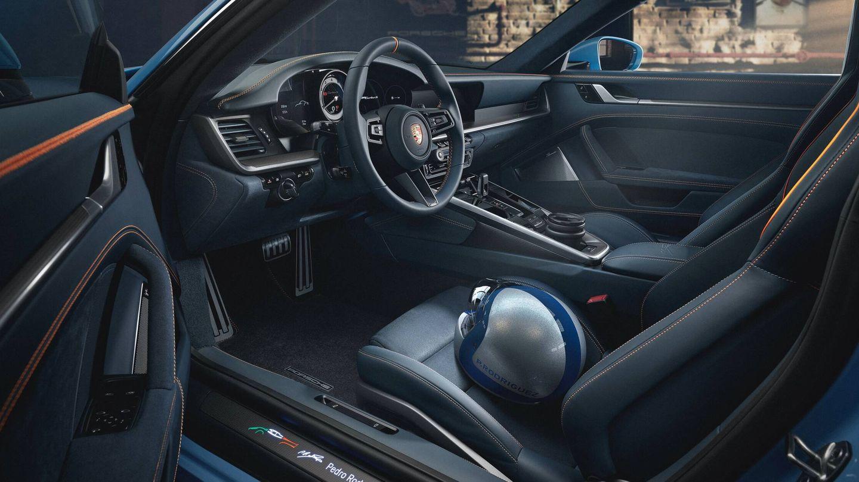 El interior también se ha personalizado, y algunas opciones se han retirado del configurador de Porsche para que esta unidad sea irrepetible.