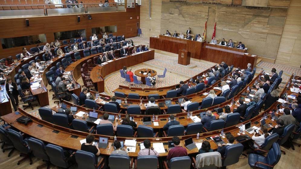 Foto: La Asamblea de Madrid. (EFE)