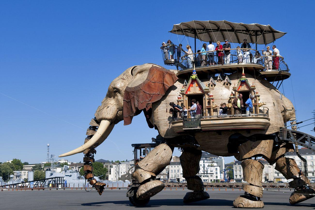 Foto: Nantes, la patria de Julio Verne (y de la imaginación)