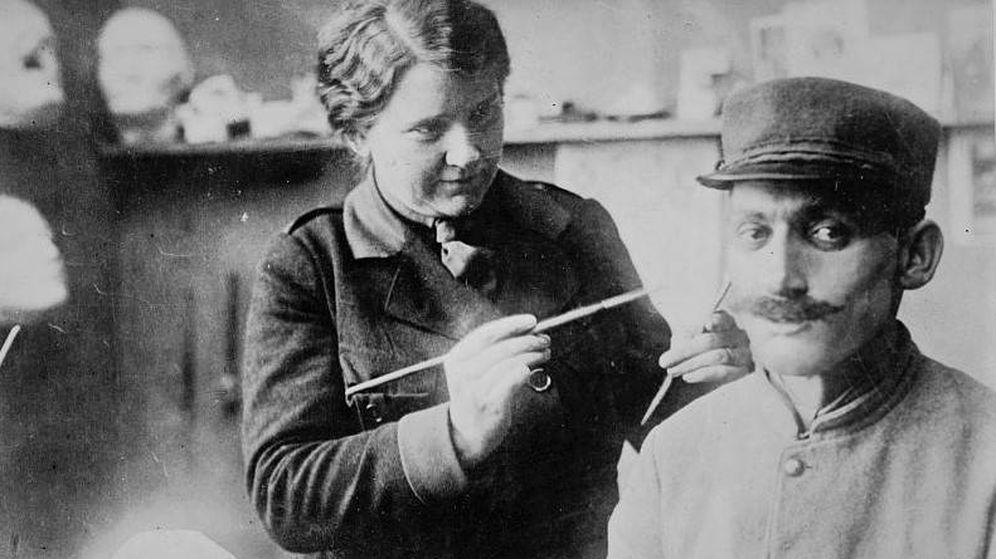 Foto: La escultora se trasladó a París para ayudar a los soldados heridos en la Primera Guerra Mundial (Library of Congress)