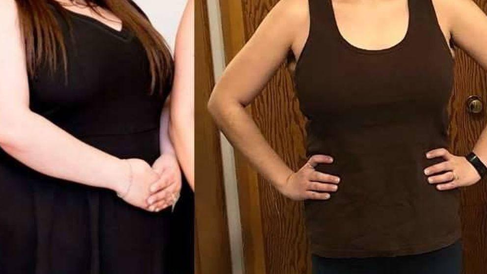 El método que ha seguido esta mujer para perder 60 kilos