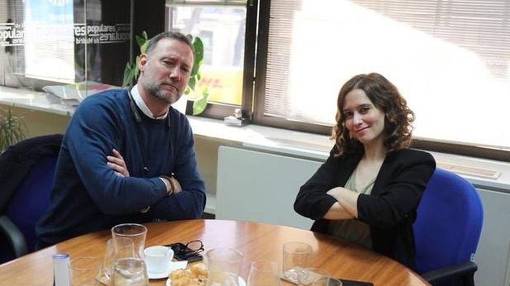 Foto: Pedro García Aguado e Isabel Díaz Ayuso. (Redes sociales)