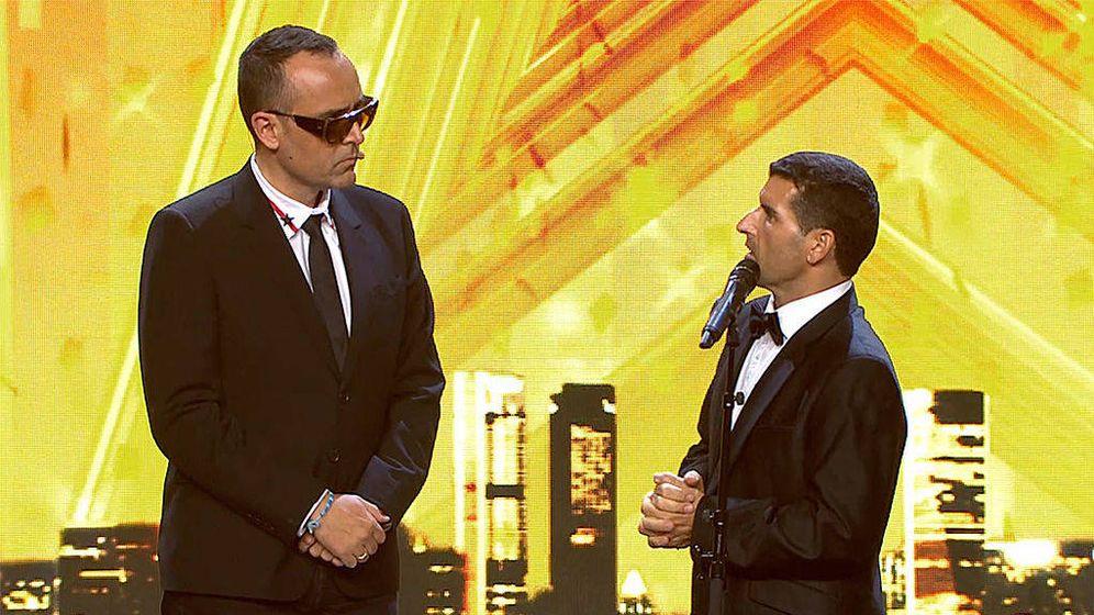 Foto: Risto y su polémico pase de oro en 'Got Talent'. (Telecinco)
