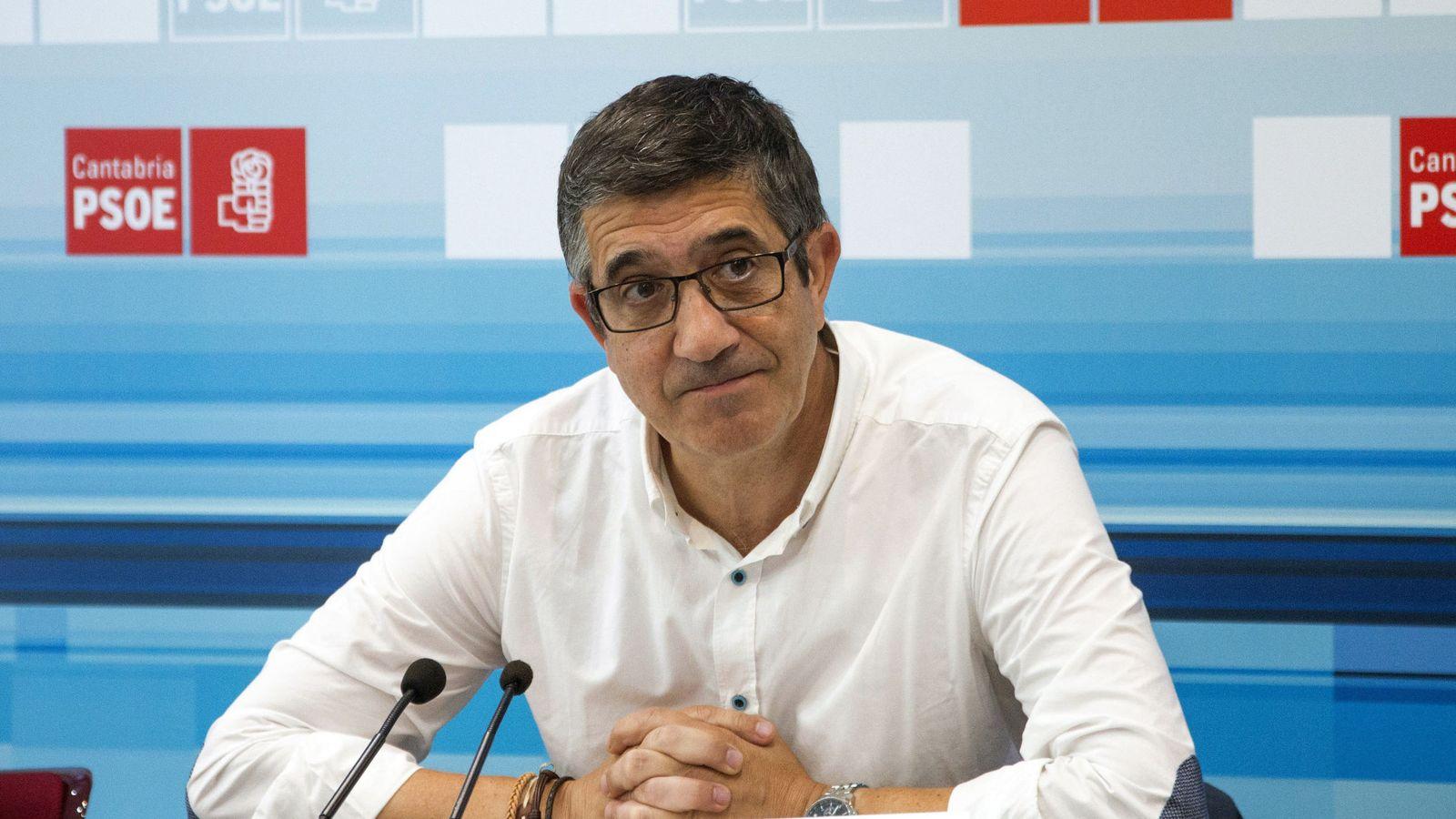 Foto: El expresidente del Congreso, Patxi López, el pasado 27 de agosto en Santander. (EFE)