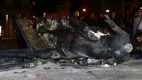 Barcelona ve comprensible el acto vandálico contra la estatua de Franco