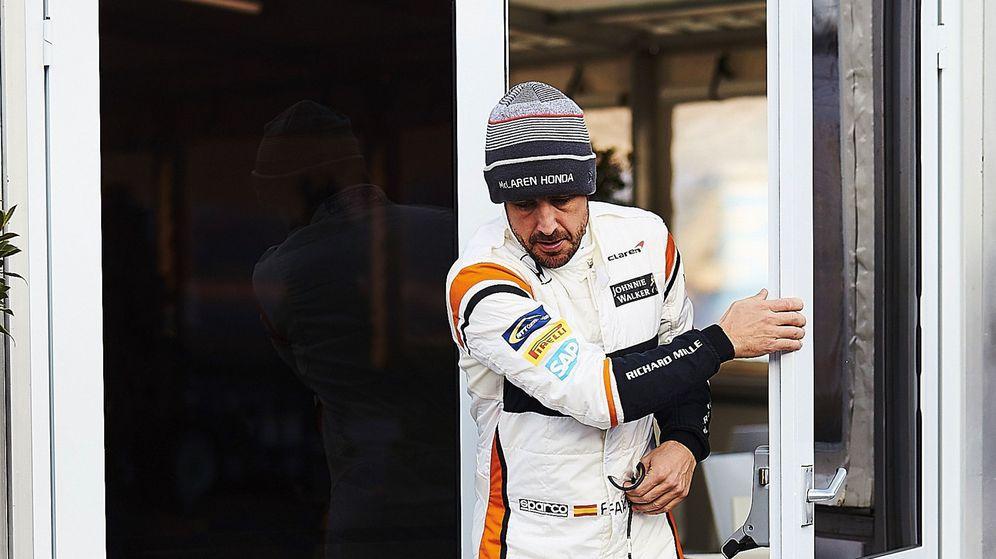 Foto: Fernando Alonso en Montmeló la pasada semana.