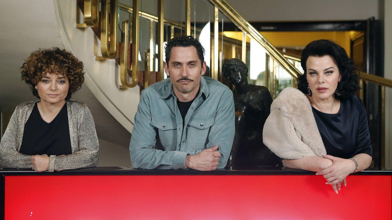 Paco León, Debi Mazar y Anna Rodríguez.    (Gtres)