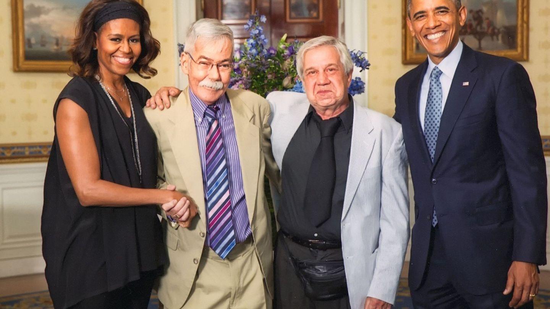 Michelle y Barack, la pareja perfecta. (EFE)