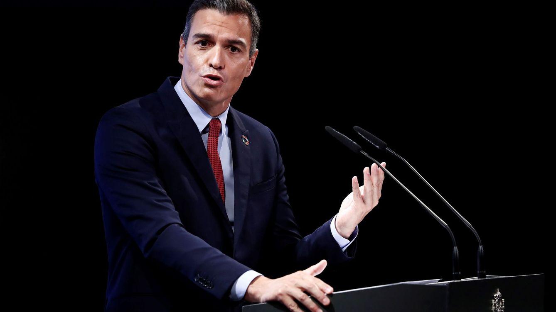 Foto: Sánchez apela a la unidad frente a la pandemia. (EFE)