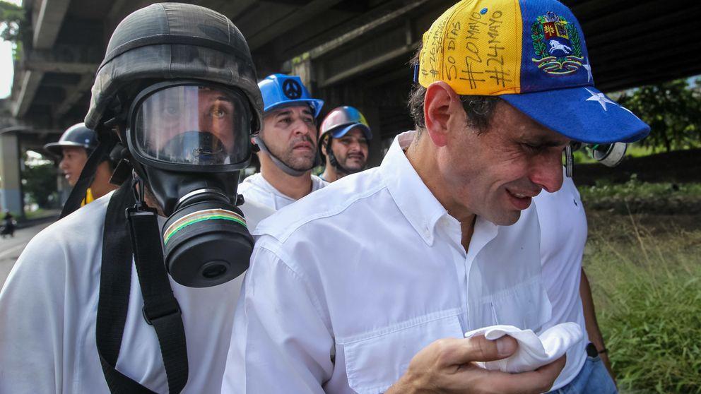 El opositor Capriles denuncia haber sufrido una emboscada de militares en Venezuela