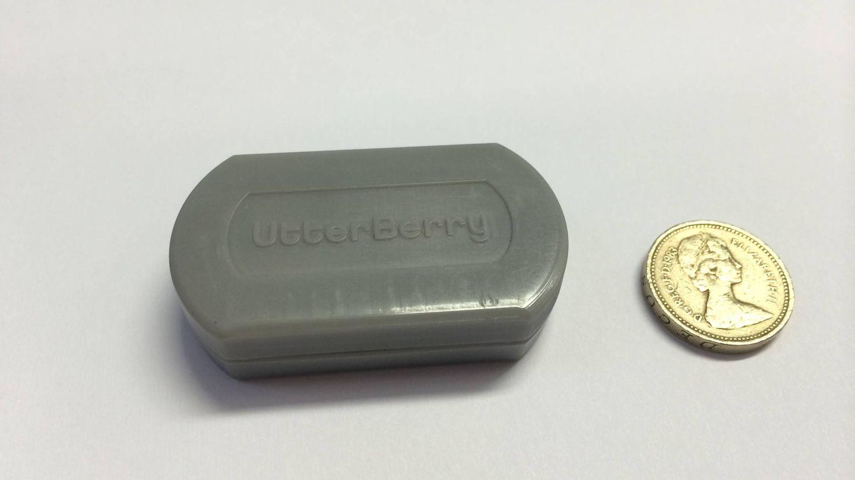 Uno de los sensores diseñados por UtterBerry y usados para monitorizar el metro de Londres. (UtterBerry)