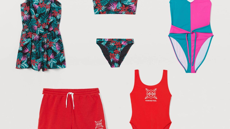Bañadores perfectos para crear el mejor look para la piscina. (Cortesía H&M)