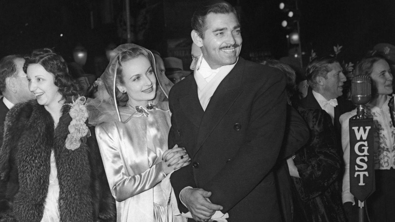 La pareja, en el estreno de 'Lo que el viento se llevó' en Atlanta. (Cordon Press)