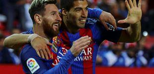 Post de El Barça, con los tres 'pepinos' en el campo donde empató el City de Pep