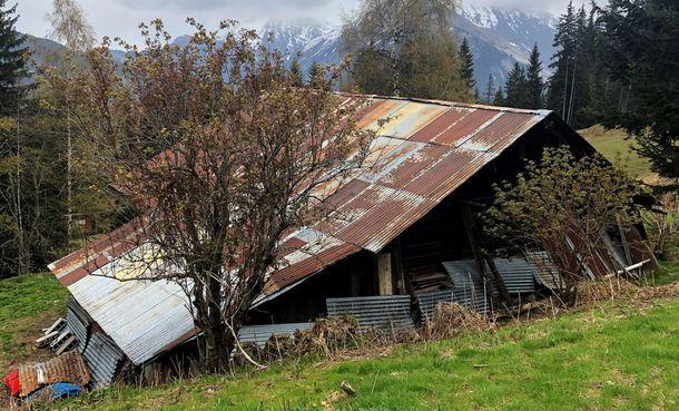 Foto: Refugio de montaña en el que vivía Ternera. (EFE)