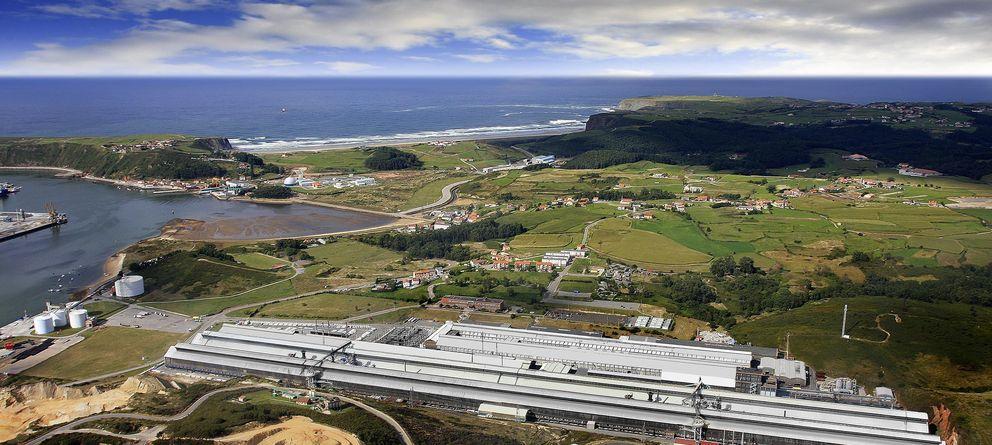 Foto: Imagen de la fábrica de Alcoa en Avilés (Alcoa)