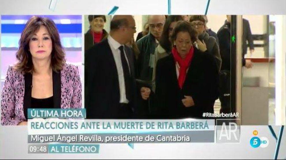 Revolución en los programas matinales con la muerte de Rita Barberá