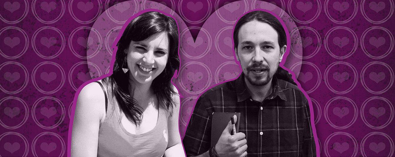 Foto: Pablo Iglesias e Irene Montero en un montaje de 'Vanitatis'
