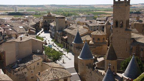 Olite, escápate ya al pueblo con el castillo (Disney) más bonito del mundo