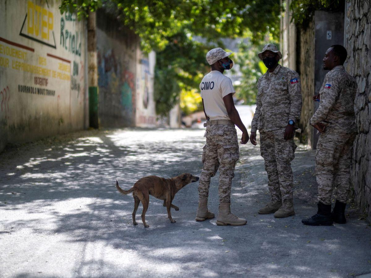 Foto: Policía en Haití. (Reuters)