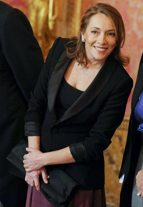 Foto: Elvira Fernández, en una imagen de archivo durante una recepción oficial en Zarzuela (I.C.)