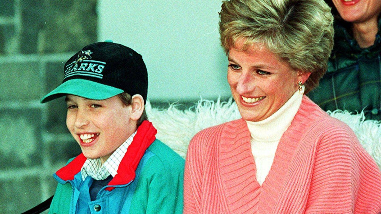 Diana y el príncipe Guillermo. (Cordon Press)