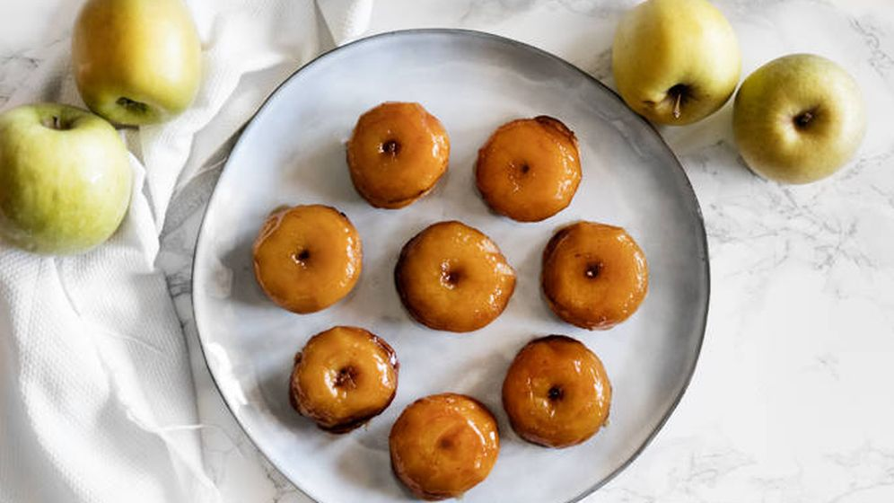 Foto: Tatins de manzana. (Imagen: Snaps Fotografía)