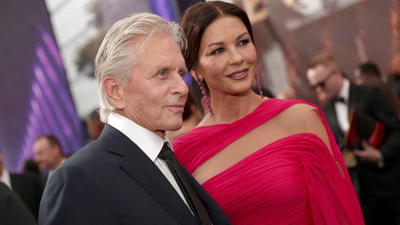Michael Douglas y Catherine Zeta-Jones presumen de vacaciones en Mallorca