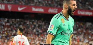 Post de Así gana el Real Madrid más obrero y por qué Benzema ya muerde como '9'