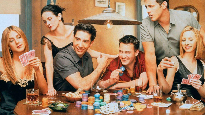 Protagonistas de 'Friends'.