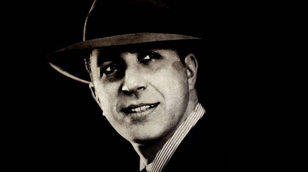 Foto: El legendario cantante de tango, Carlos Gardel.