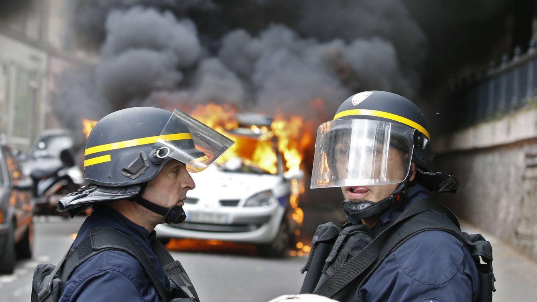 La tensión social arrecia en Francia: No hay manifestación que no degenere en violencia