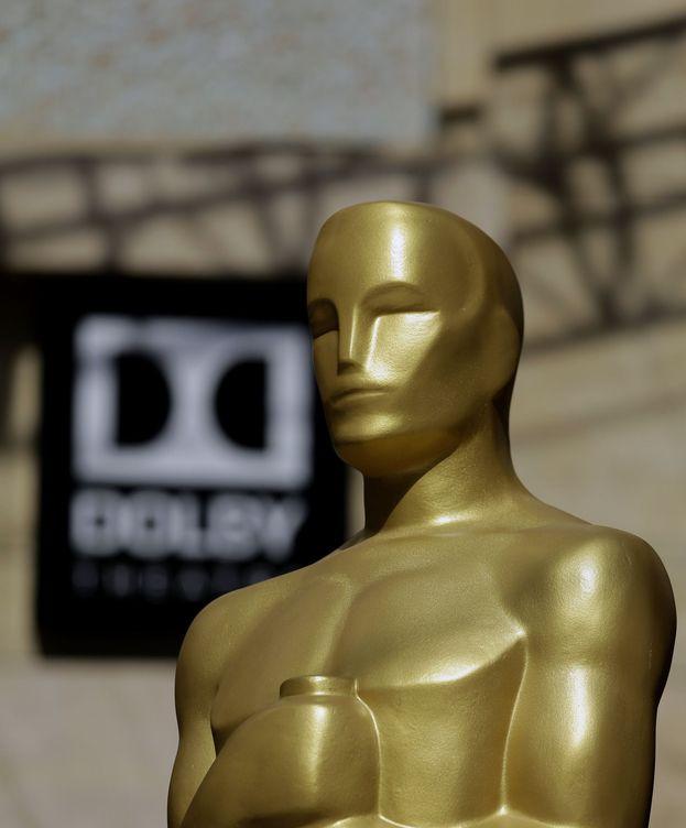 Foto: Réplica de la estatuilla de los Oscar, en 2017 | EFE