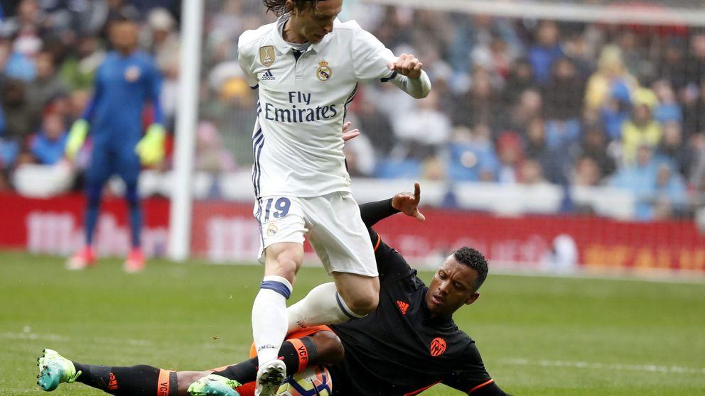 Modric asoma la cabeza cuando más lo necesita el Real Madrid