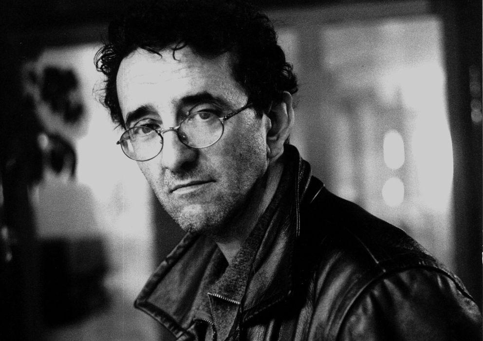 Foto: El escritor chileno Roberto Bolaño (Jerry Bauer)