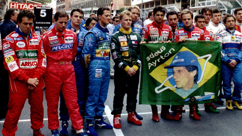 Los pilotos de aquella fatídica temporada recuerdan a Senna en el Gran Premio de Mónaco. (Archivo)