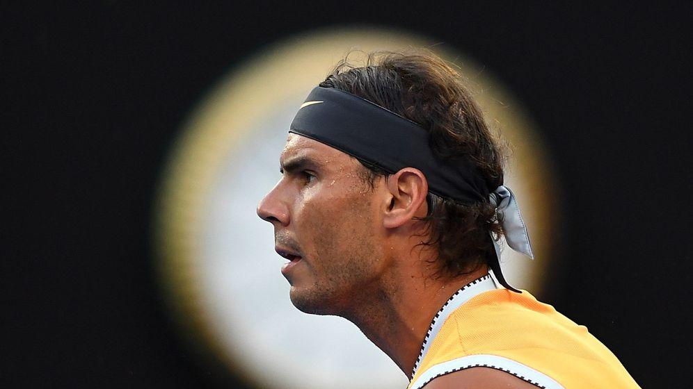 Foto: Rafa Nadal, durante el pasado Open de Australia. (EFE)