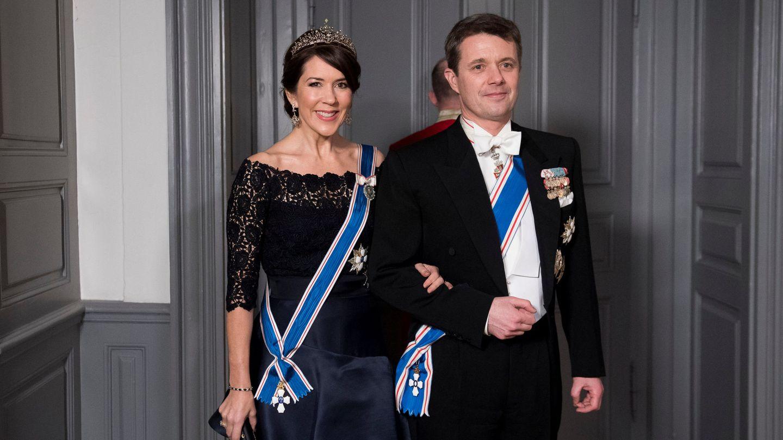 Federico y Mary de Dinamarca, en una imagen de archivo. (EFE)