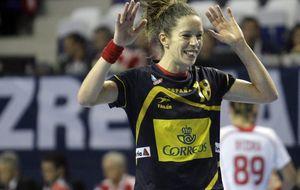 El deseo de la 'guerrera' Begoña: marcharse con España en el podio