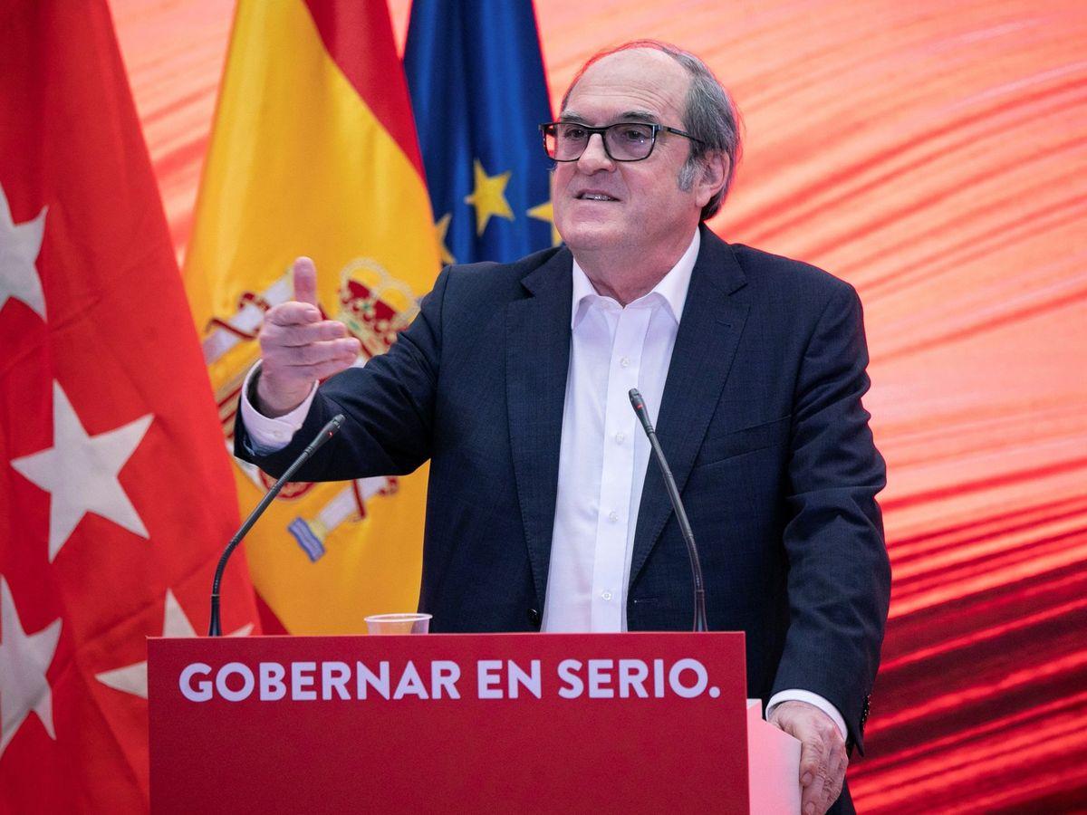 Foto: El candidato del PSOE a la Comunidad de Madrid, Ángel Gabilondo. (EFE)