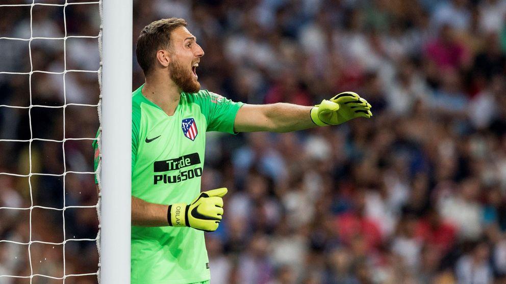 El irritante cariño que recibe Oblak del Atlético de Madrid