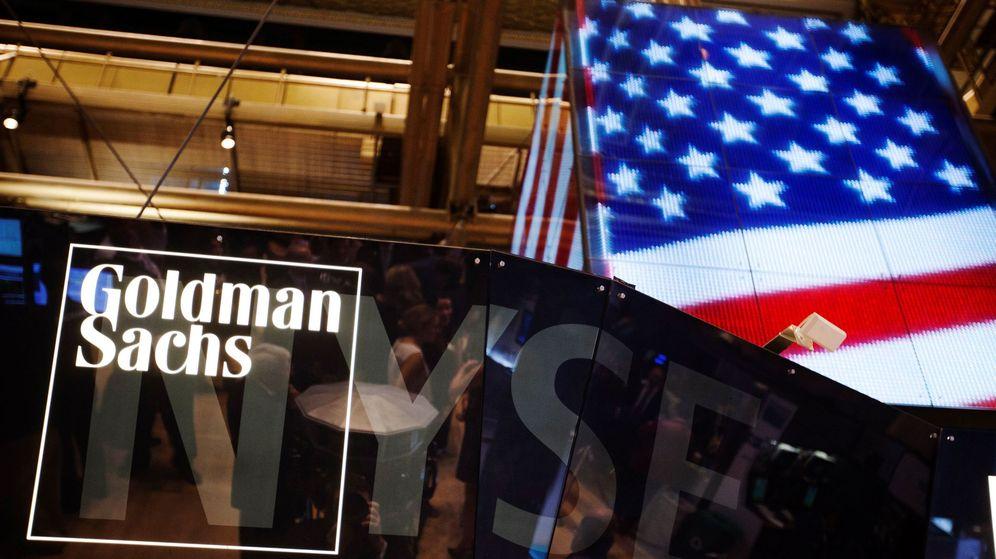 Foto: Logo de Goldman Sachs. (EFE)