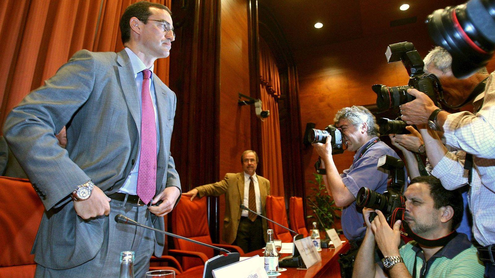 Foto: El hombre de confianza de Mas, Antoni Vives. (EFE)