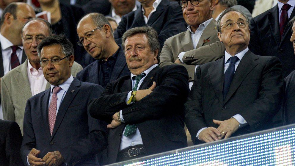Florentino y los árbitros (de los que no habla): ¡Así, así, así no gana el Madrid!