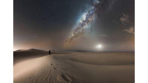 Cielo y noche, la impresionante combinación del concurso de fotografía Earth & Sky 2017