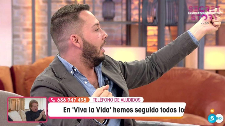 Avilés, en 'Viva la vida'. (Telecinco).
